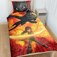 Dreamworks How to Train your Dragon Chau Single Twin Bed Quilt Cover Set