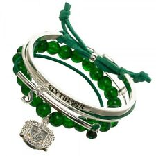 HARRY POTTER SLYTHERIN ARM CANDY PARTY CHARM BRACELET SET ROPE METAL CORD LOGO