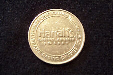 FIFTY (50) CENT GAMING TOKEN - HARRAH*S CASINO CRUISE RIVERBOATS - JOLIET IL