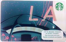 2 Starbucks Coffee LOS ANGELES LAX Theme Building Encounters Gift Cards 2015 NEW