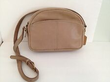 Vintage Coach Tan Leather Shoulder Bag Purse Made In USA