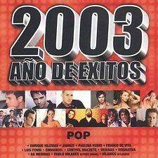 Various Artists 2003 Año De Exitos Pop CD