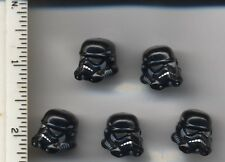 Star Wars LEGO x 5 Minifig, Headgear Helmet SW Stormtrooper, Shadow Trooper