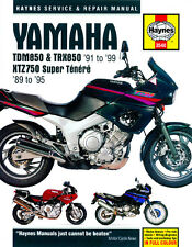 HAYNES 3540 MOTORCYCLE REPAIR OWNER MANUAL YAMAHA TDM850 TRX850 XTZ750 1989 - 99