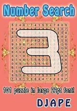 Number Search Ser.: Number Search : 101 Puzzle in Large 22pt Font! by Djape...