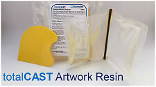 Art Resin Epoxy Clear Resin for Artwork 200ml (200g) UNIQUE mixpack! totalCAST