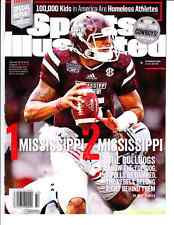 October 20, 2014 Dak Prescott Mississippi State Sports Illustrated NO LABEL