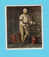 Friedrich von der Trenck in Chains Jail 1934 German Eckstein Cigarette Card