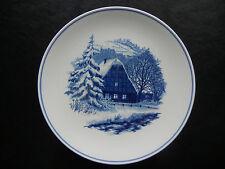Meissen Piatti da parete 1963 Gable un casa graticcio innevata (mio Pos. 11)