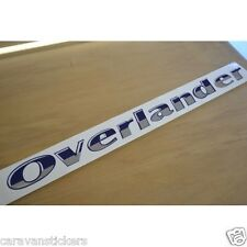 STERLING Elite Overlander - (STYLE 1)(CHROME) - Side Sticker Graphic - SINGLE