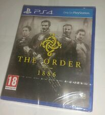 The Order: 1886 for Sony PlayStation 4 PS4 BRAND NEW SEALED UK PAL