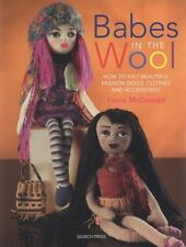 Book Nonfiction Babes In The Wool How To Knit Beautiful Fashion Dolls Clothes Ne