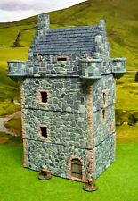 28MM PMC GAMES NB108P - PELE TOWER 4 STOREY BUILDING - NICK BUXEY COLLECTION
