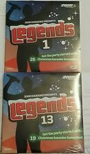ZOOM KARAOKE CDG     LEGENDS CHRISTMAS  CRACKERS   2  DISC 45 SONGS
