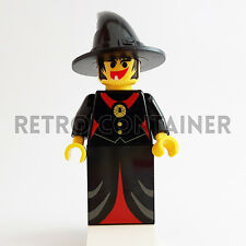 LEGO Minifigures - 1x cas215 - Fright Knights Witch - Castello Omino Minifig