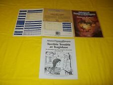 DUNGEON MASTER'S SCREEN DUNGEONS & DRAGONS AD&D 2ND EDITION 9263 WITH MODULE - 4