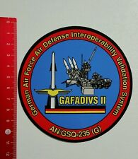 Aufkleber/Sticker: GAVADIVS II German Air Force Air Defense (201016131)
