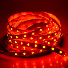 1M 5M SMD 5050 RGB white Waterproof 60LED/M Flexible 3M Tape Strip Light DC12V