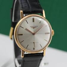 1967's LONGINES 18K SOLID GOLD CAL 30L MANUAL WIND SWISS MADE MEN'S WATCH