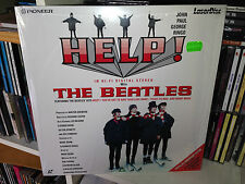 THE BEATLES HELP LASERDISC 1995 MADE JAPAN SIGILLATO/SEALED