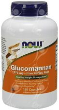 "Now Foods Glucomannan ""Konjac Root"" 575mg x180caps"