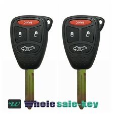 2 Replacement For Grand Cherokee Liberty Transmitter Remote Alarm Key Fob