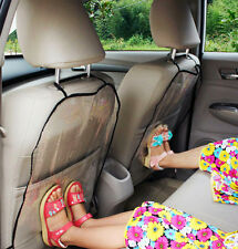 2 X Car Seat Back Protector Cover Backseat for Children Babies protect from Mud