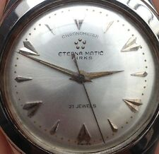 Vintage Eterna Matic Brick Chronometer 21 jewels, from 1950 -1960s