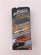 Hot Wheels Fast And Furious 3 pack B car collection New Item