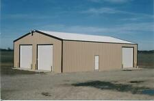 Kit  building 27x30 x 10 steel garage Simpson Steel Building Company