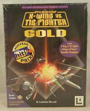 Star Wars: X-Wing vs. TIE Fighter GOLD Retail Big Boxed PC Game (1997) FRENCH