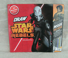 "Klutz ""Draw Star Wars Rebels"" Draw Right Inside The Book! ~ NEW"