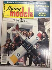 Flying Models Magazine RCD's Mom Valmet Miltrainer November 1992 040917nonrh2