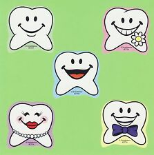 10 Tooth Shaped - Large Stickers - Party Favors - Rewards