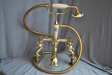 BRASS BATH SHOWER MIXER 4 BATHROOM RECLAIMED, FULLY REFURBISHED & READY TO FIT