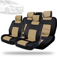 New Elegant Design Mesh and Synthetic Leather Car Seat Covers BT For Hyundai
