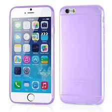 New Purple Ultra Slim Thin TPU Soft Silicon Cover Case for Apple iPhone 6 (4.7)