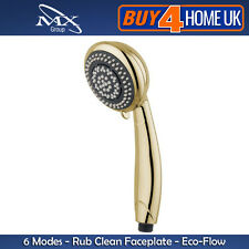 MX GOLD SHOWER HEAD Handset-Synergy 6 Mode (sostituisce la maggior parte marche principali)