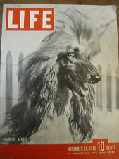 LIFE Nov 26 1945 N Wood, Dodgers sign Robinson, Pig Alley, Japanese code, Hawaii