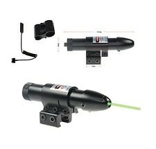 Tactical Green Laser sight Gun scope Remote Pressure Switch Mount & Tail