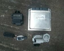 MERCEDES W203 C270 CLK W209 CDI ENGINE ECU KIT, KEY IGNITION ESL A 6121534979