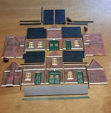 Garden Railway G Gauge 1:24th Scale Railway Station Painted Kit