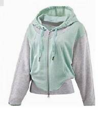 adidas Stella McCartney Essential  Hoodie Jacket ~ Large ~ Fresh Aqua
