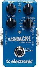 New TC Electronic Flashback Delay Guitar Effects Pedal!