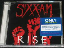 SIXX:A.M. - Rise - EXCLUSIVE BEST BUY CD Single! NEW! OOP! motley crue sixx am