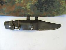 WWII ORIGINAL GERMAN ALLY PICK AXE LEATHER HOLSTER