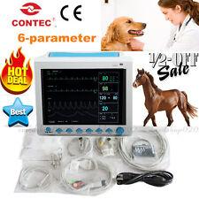 CE Tierarzt Patient Monitor ICU Vitalzeichen 6-Parameter, Hund / Katze, CONTEC
