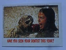 1988 Topps FRIGHT FLICKS Horror Movies Trading Card #80 ~ POLTERGEIST