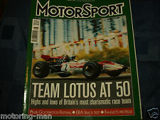 LOTUS AT 50 COLIN CHAPMAN 72 F1 JIM CLARK JOCHEN RINDT 96T  WINKELMANN INDY CAR