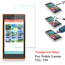 New Genuine Tempered Glass Screen Protector Film Guard For Nokia Lumia 735/ 730
